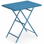 Emu - Arc En Ciel Table pliable rectangulaire 70 x 50 cm   Bleu