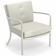 Emu - Athena Lounge Chair White | Grey