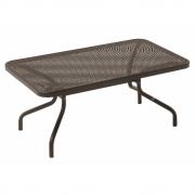 Emu - Athena Tisch niedrig 100 x 60 cm | Indischbraun