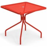 Emu - Cambi Tisch quadratisch 80 x 80 cm | Scharlachrot