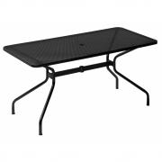 Emu - Cambi Table rectangular 160 x 80 cm | Black