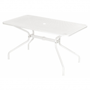 Emu - Cambi Table rectangular 140 x 80 cm | White