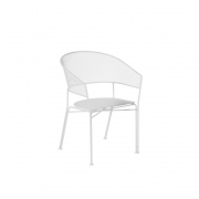 Emu - Eclipse Armchair White
