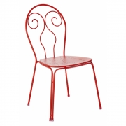Emu - Caprera Chair Scarlet Red