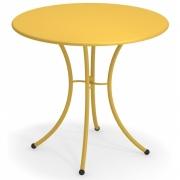 Emu - Pigalle Tisch rund 80 cm | Currygelb