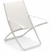 Emu - Snooze Liegestuhl Weiß / Weiß