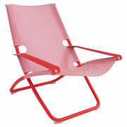Emu - Snooze Chaise longue Rouge / Rouge Ecarlate