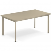 Emu - Star Table rectangulaire Taupe