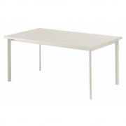Emu - Star Table rectangulaire Blanc Mat