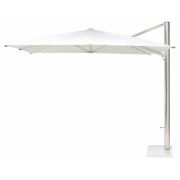 Emu - Shade Sunshade with Base 400 x 300 | White-Aluminum | Antique Iron