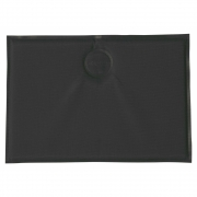 Emu - Coussin magnétique rectangulaire Anthracite