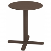 Emu - Darwin Folding Table round Ø 60 cm | Indian Brown