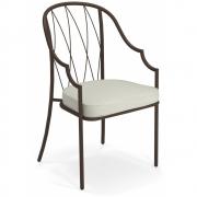 Emu - Como Backrest Chair Chestnut brown