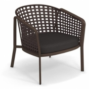 Emu - Carousel lounge chair with grid 1217