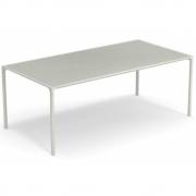 Emu - Terramare rechteckiger Tisch mit Platte aus Steinzeug