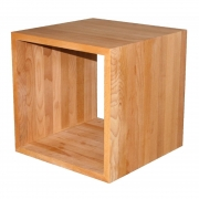 Jan Kurtz - Cubus Würfel Holz Eiche   42 x 42 x 42 cm
