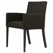 Jan Kurtz - Augus Armchair Loden Dark Brown | Beech Wenge