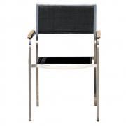 Jan Kurtz - Lux chaise empilable Noir
