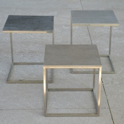 Jan Kurtz - Pino Side Table Ceramic Closed | Grey