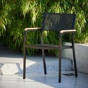 Jan Kurtz - Lux Alu chaise empliable Noir