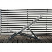 Jan Kurtz - Rimini Deckchair White - White