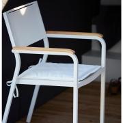 Jan Kurtz - Fine Sitzkissen für Cubic / Lux / Mia Weiß