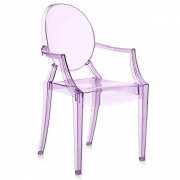 Kartell - Lou Lou Ghost Child's chair violet