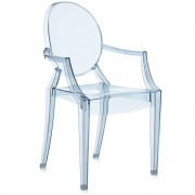Kartell - Lou Lou Ghost Child's chair Ice blue