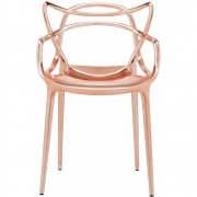 Kartell - Chaise Masters Cuivre