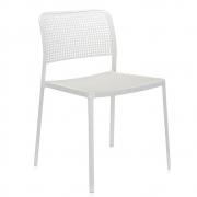 Kartell - Audrey Cadeira Branco - Branco