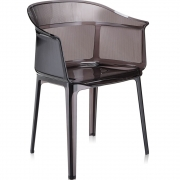 Kartell - Papyrus Armchair Brown Fume