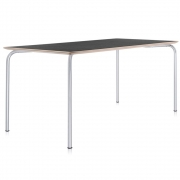 Kartell - Maui Table square 120 x 80 cm | Anthracite