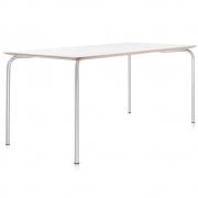 Kartell - Maui carré Table 120 x 80 cm | blanc de zinc