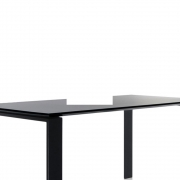 Kartell - Four Table 158 x 79 cm | Black -Black