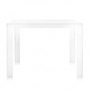 Kartell - Invisible Tisch 72 cm | Glasklar