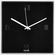Kartell - Tic & Tac Wall clock Black