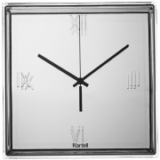 Kartell - Tic & Tac Wall clock Chrome plated