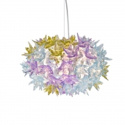 Kartell - Bloom S2 Pendelleuchte Lavendel