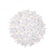Kartell - Bloom CW2 Wand- und Deckenleuchte Weiß