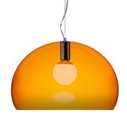 Kartell - FL/Y Pendant Lamp Orange