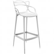 Kartell - Masters Barhocker 75 cm | Weiß