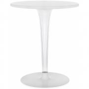 Kartell - TopTop Tisch für Dr. Yes rund Ø 60 cm Weiß | Rund