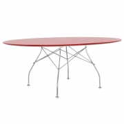 Kartell - Glossy table Round