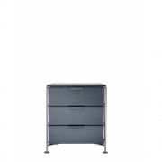 Kartell - Mobil Container 3 drawer | Slate grey