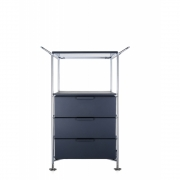 Kartell - Mobil Container with handle