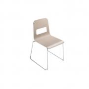 La Palma - Hole Stuhl Weiß lackiert