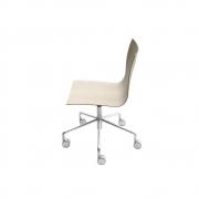 La Palma - Thin S20 Cadeira Giratória Preto Decapado