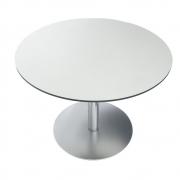 La Palma - Brio Tampo da mesa 70 Ø 70 cm   HPL Branco