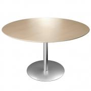 La Palma - Brio Tisch rund 80 cm 69 cm   HPL Fenix Schwarz   Schwarz