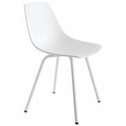 Chaise 4 pieds blanc Miunn S161 - La Palma